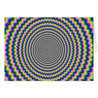 PSYCHEDELIC SPIRAL. CARD
