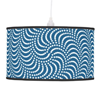 psychedelic spiral ceiling lamp