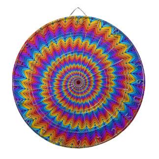 Psychedelic Spiral Dart Board