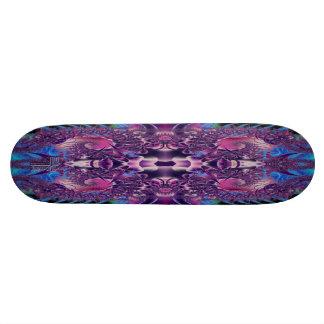 Psychedelic Spiral Double V1 Skateboard Deck