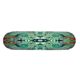 Psychedelic Spiral Double V2 Skateboard Deck
