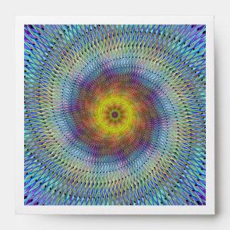 Psychedelic spiral envelopes