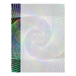 Psychedelic Spiral Letterhead
