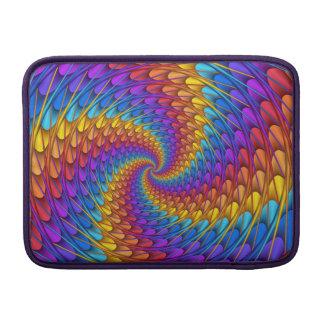 Psychedelic Spiral Macbook Air Sleeve