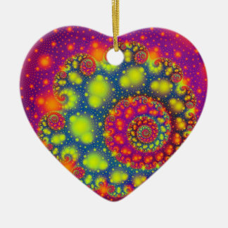 Psychedelic Spiral Neon Decorative Abstract Art Ornaments