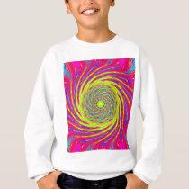 Psychedelic Spiral Pattern: Sweatshirt