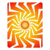 Psychedelic Spiral Pattern: Vector Art: Flyer