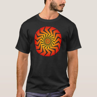 Psychedelic Spiral Pattern: Vector Art: T-Shirt
