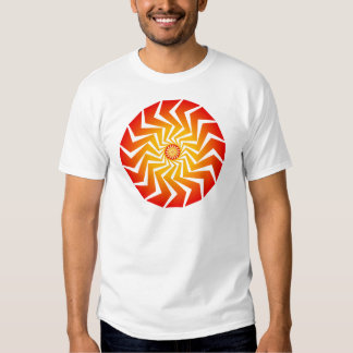 Psychedelic Spiral Pattern: Vector Art: T Shirts