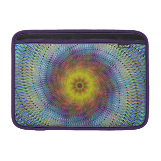 Psychedelic spiral sleeves for MacBook air