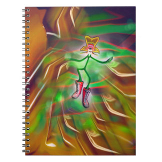 Psychedelic Spring Sensation Notebook