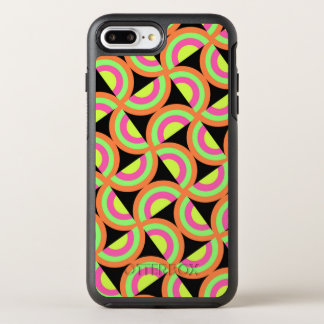 Psychedelic Squares OtterBox Symmetry iPhone 7 Plus Case