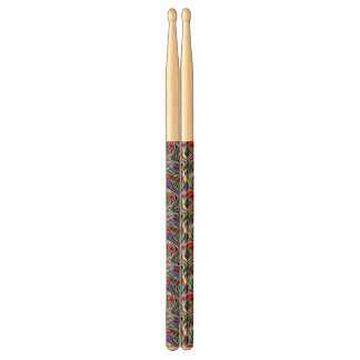 Psychedelic Stained Glass Abstract Drumsticks