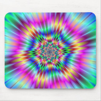 Psychedelic Star Burst Mousepad