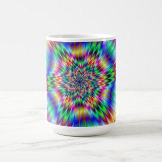 Psychedelic Star Burst Mug