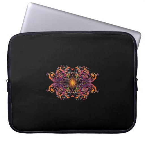 Psychedelic Star Laptop Computer Sleeve
