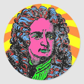 Psychedelic Stickers coloured Newton