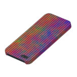 Psychedelic Stripes - Colorful Striped Abstract iPhone 5 Covers
