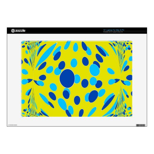 Psychedelic-Style Decal For Laptop