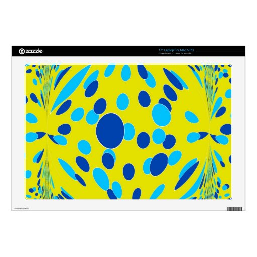 Psychedelic-Style Laptop Decal