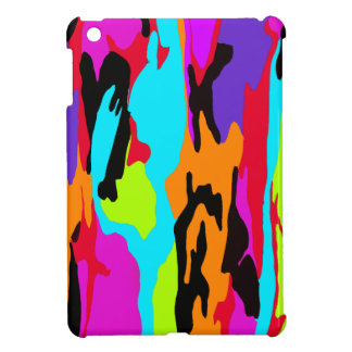 Psychedelic Suburban Camo Cover For The iPad Mini