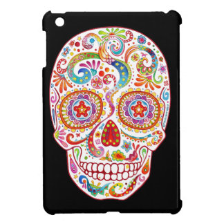 Psychedelic Sugar Skull iPad Mini Case