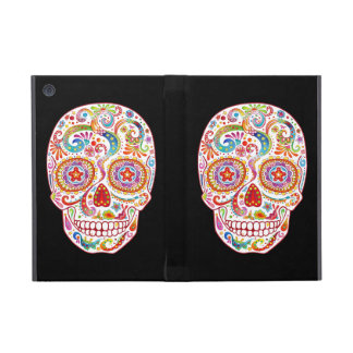 Psychedelic Sugar Skull iPad Mini Case with Stand