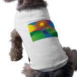 Psychedelic Sun Pet T-shirt