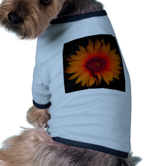 Psychedelic Sunflower Pet Tshirt