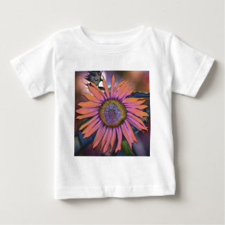 Psychedelic Sunflower Revisited Baby T-Shirt