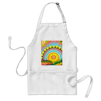 Psychedelic Sunset Apron