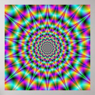 Psychedelic Supernova Poster
