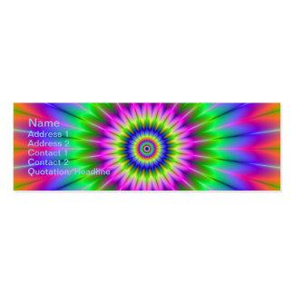 Psychedelic Supernova Skinny Business Card