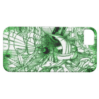 Psychedelic Surreal Funky Dali Style Drawing iPhone SE/5/5s Case