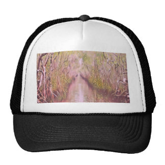 Psychedelic Swamp Trucker Hat