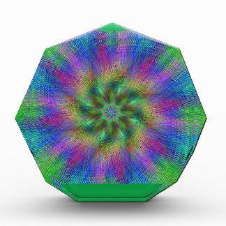 Psychedelic Swirl Acrylic Award