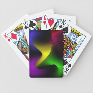 Psychedelic Swirl Bicycle Card Decks