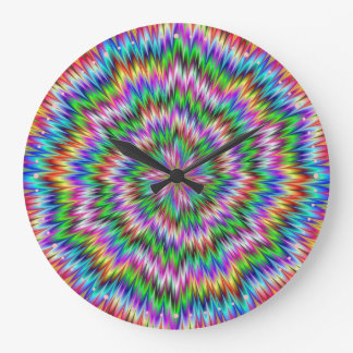 Psychedelic Swirl Clock