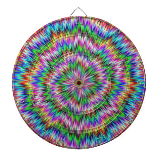 Psychedelic Swirl Dartboard