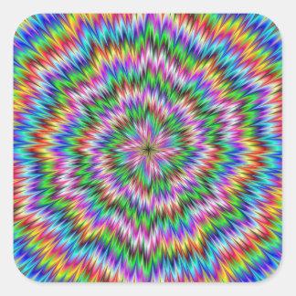 Psychedelic Swirl Sticker