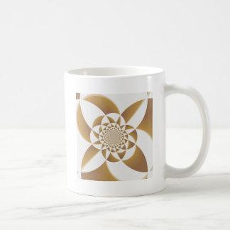 Psychedelic Tan Classic White Coffee Mug