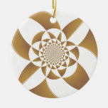 Psychedelic Tan Ornament