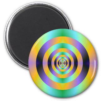 Psychedelic Target Magnet