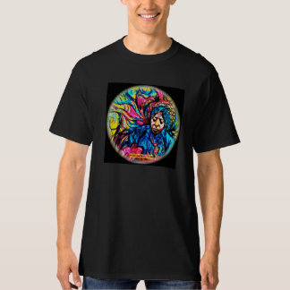 Psychedelic Tee painted by Fabricio Bizo
