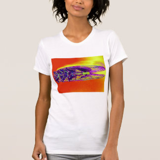 Psychedelic Thermal Cicada  by KLM T-Shirt