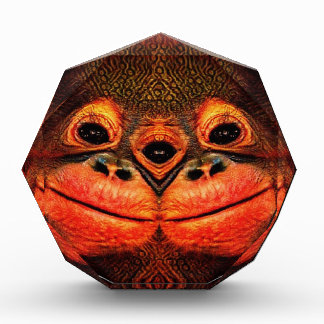 Psychedelic Three Eyed Monkey Award