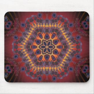 Psychedelic Tie-Dye Artwork Mousepads