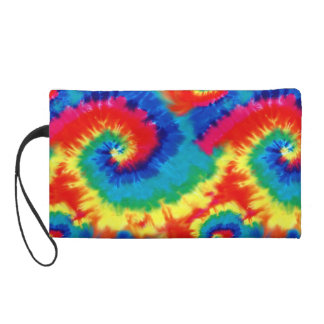 Psychedelic Tie Dye Bagettes Bag