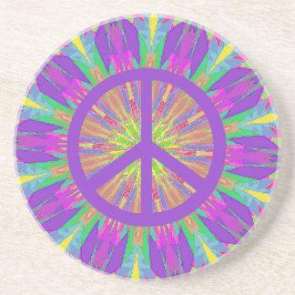 Psychedelic Tie Dye Coaster