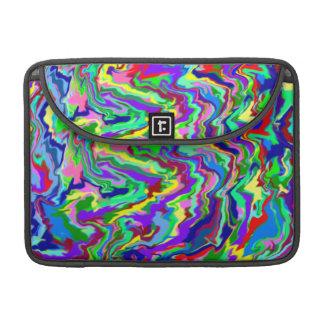 Psychedelic Tie Dye Macbook Sleeve MacBook Pro Sleeves